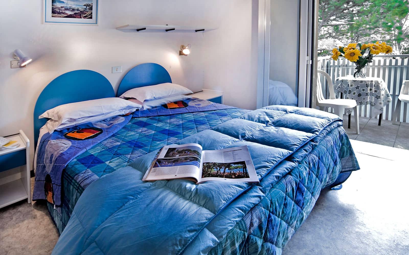 Hotel a Lignano Pineta con camera con terrazzo