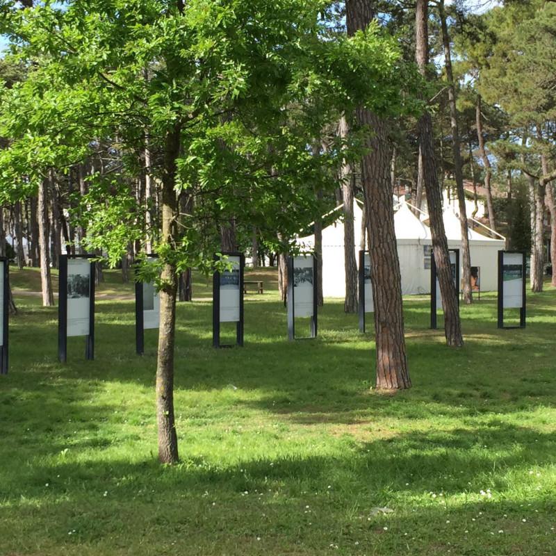 Il Parco Hemingway a Lignano Pineta vicino all'hotel San Giorgio