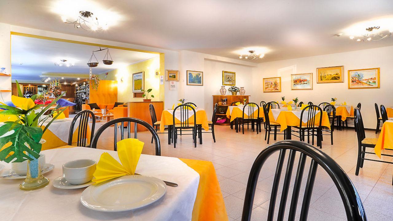 Hotel a Lignano con sala da pranzo